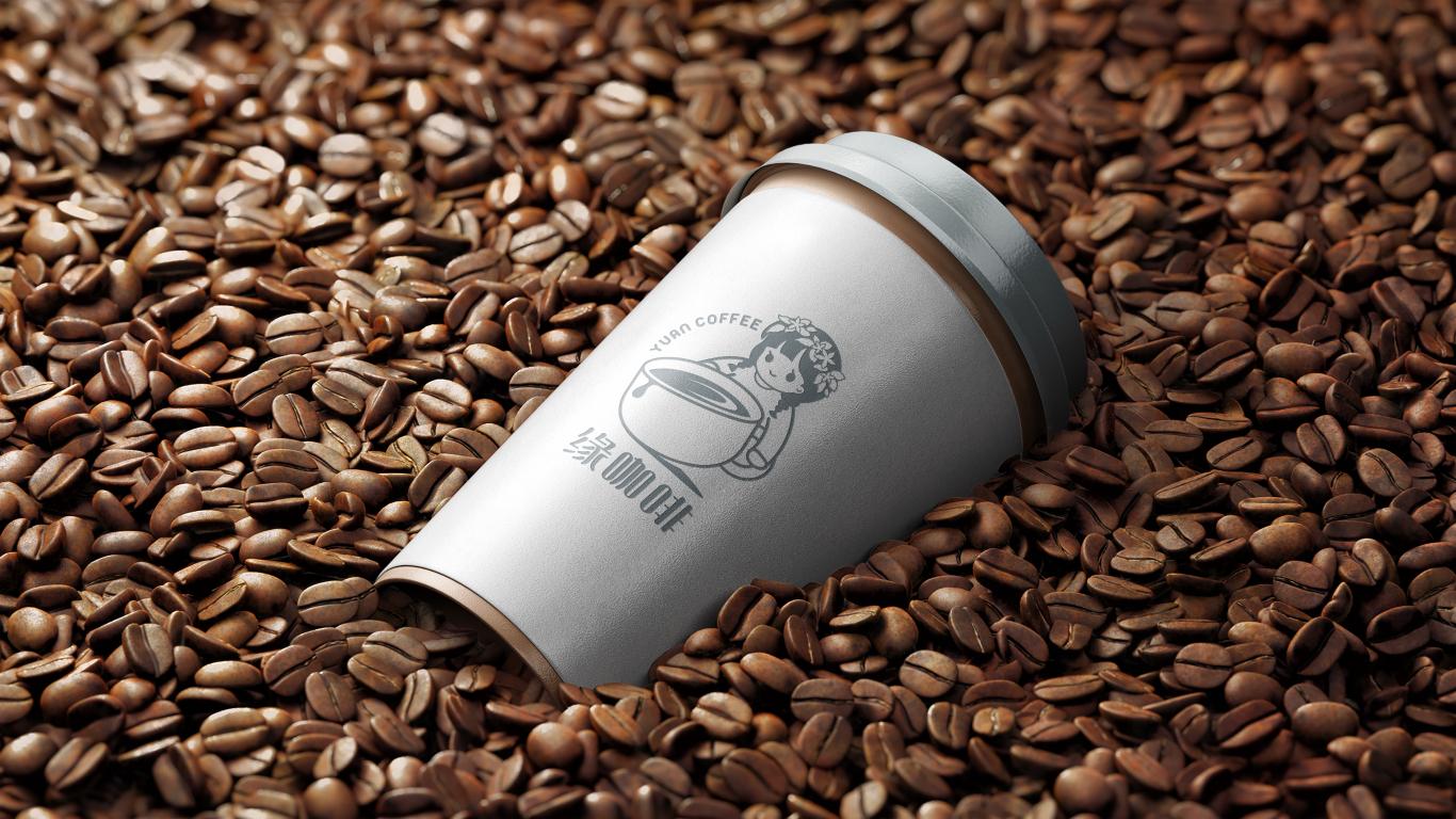 缘咖啡LOGO设计中标图2
