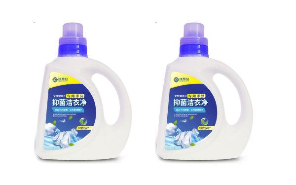 洗衣液包装标签设计