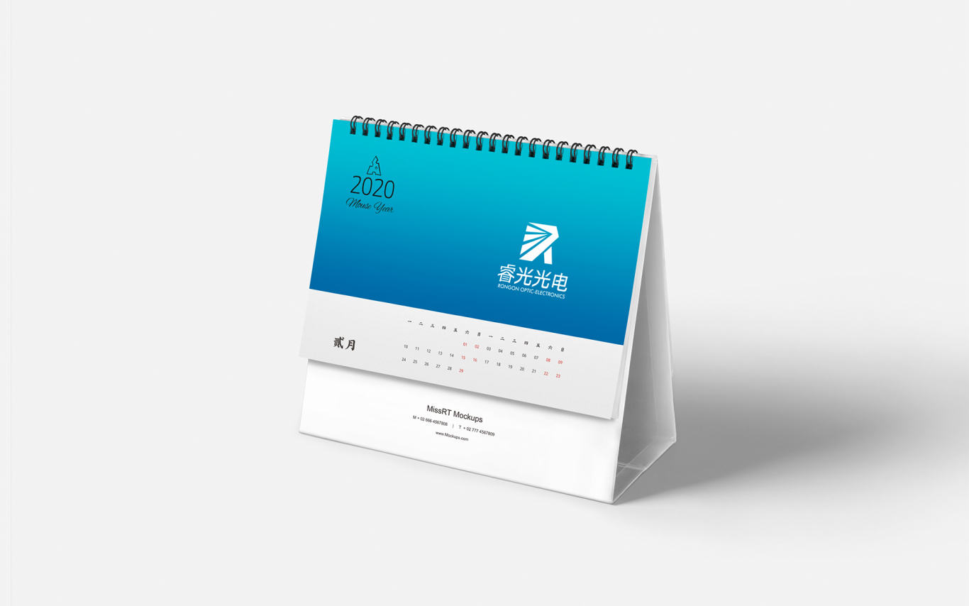 睿光光电高科技产品的logo标志vi设计图10