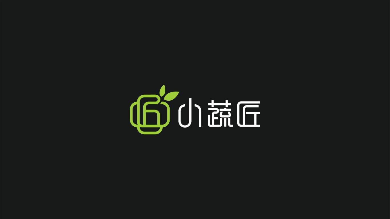 小蔬匠轻食品牌LOGO设计中标图0