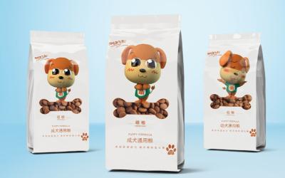 肉粒猫狗粮包装设计