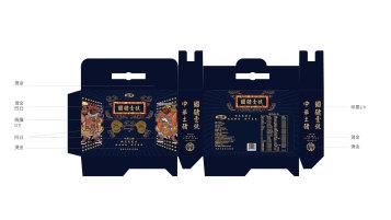 国猪壹号黑猪肉礼盒类包装设计