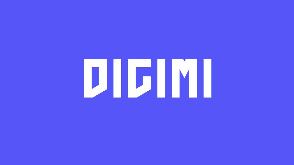 DIGIMI游戏品牌LOGO设计