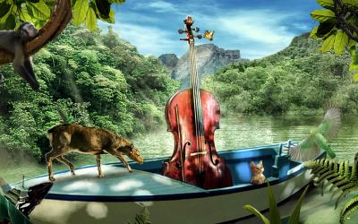 森林的提琴