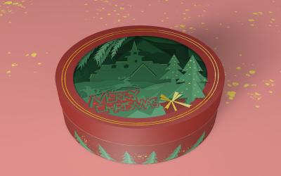 电商圣诞礼盒设计