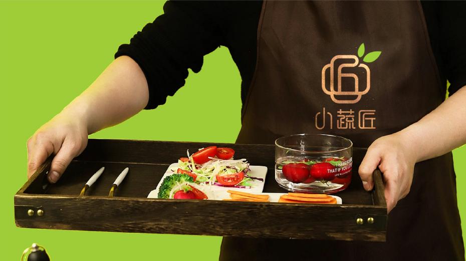 小蔬匠轻食品牌LOGO设计中标图5