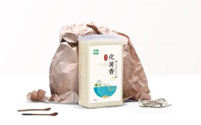 幸福田园大米包装设计