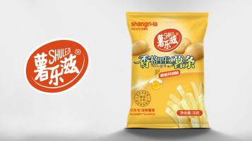 薯乐滋薯条包装设计