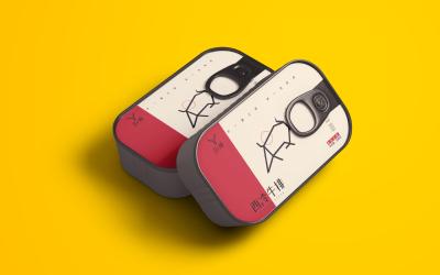静腌牛排LOGO+包装设计