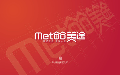 美途旅行服务企业logo设计