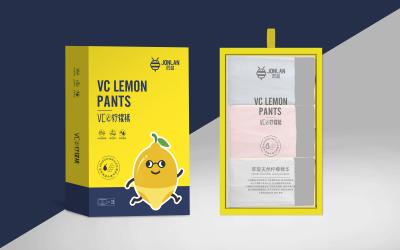柠檬裤品牌设计