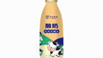 台农乳业饮品包装设计