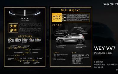 魏派汽车VV7产品亮点海报