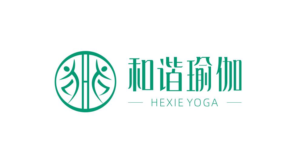 和谐瑜伽品牌LOGO设计