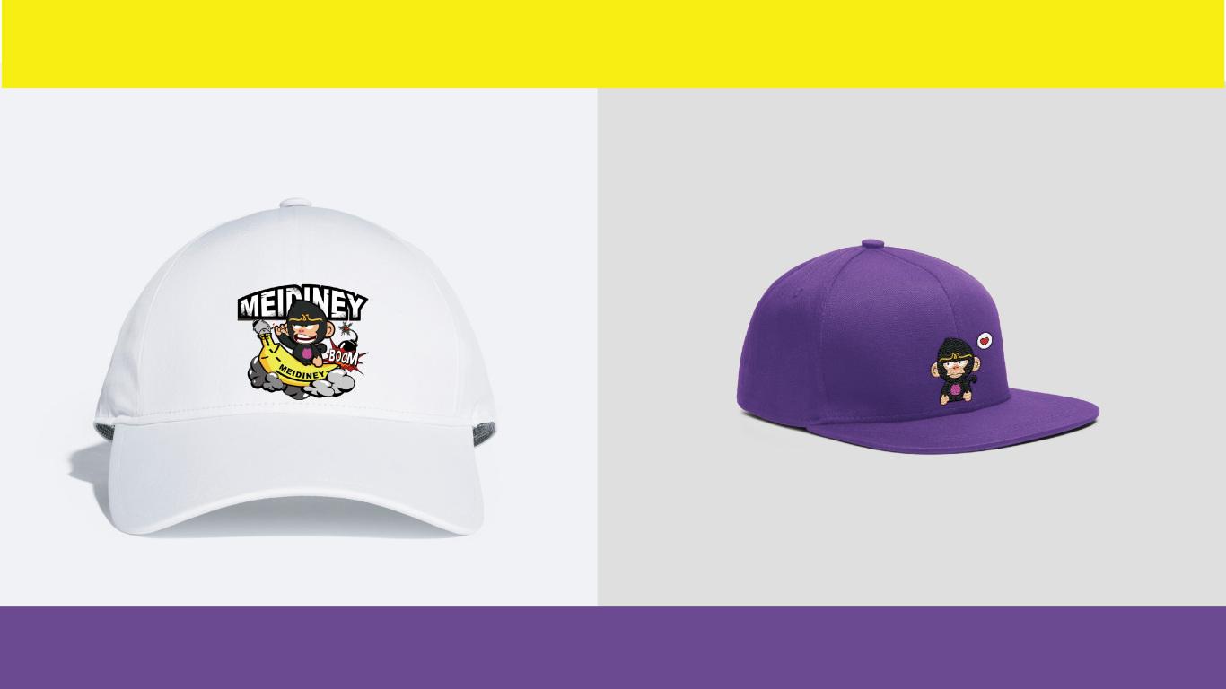 美戴尼服帽品牌吉祥物设计中标图0