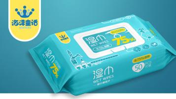 消毒湿巾包装设计