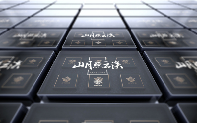 岩韵鸿茗茶叶包装设计