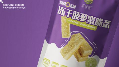 嘉菠蜜食品包裝延展設計