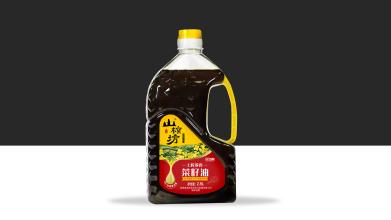 土榨特香菜籽油包装设计