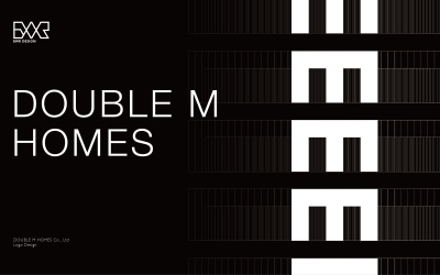 DOUBLE M HOMES标志设计