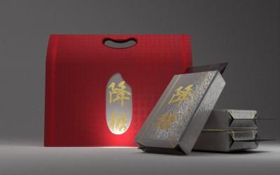 降糖大米外包装视觉设计