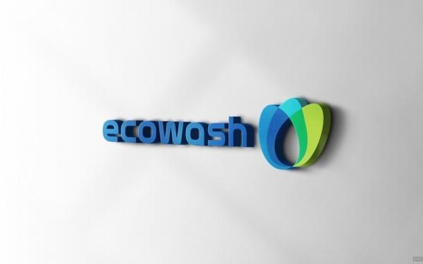 ECOWASH汽车行业LOGO设计