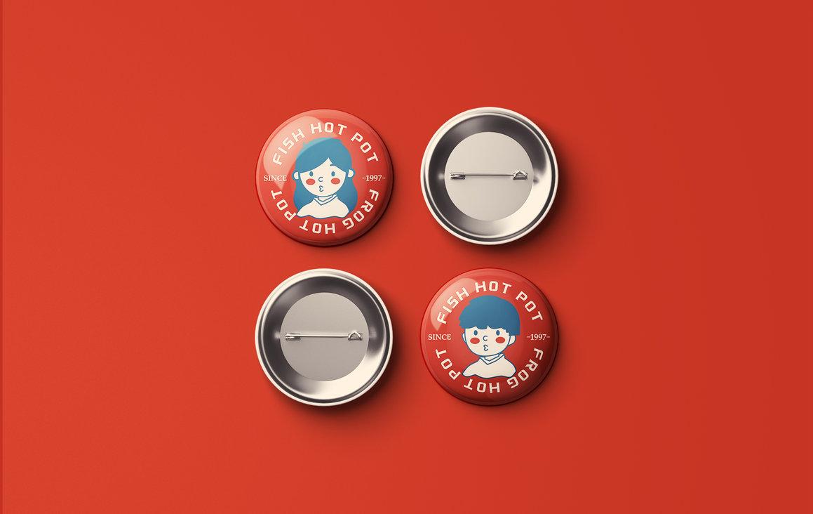 张悟德 · 美蛙鲜鱼火锅VI设计图25