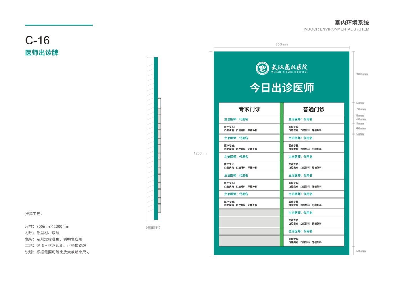 武汉慈杭医院VIS设计图70