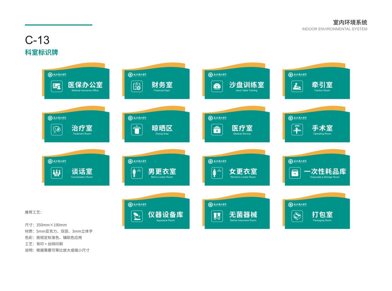 武汉慈杭医院VIS设计图66