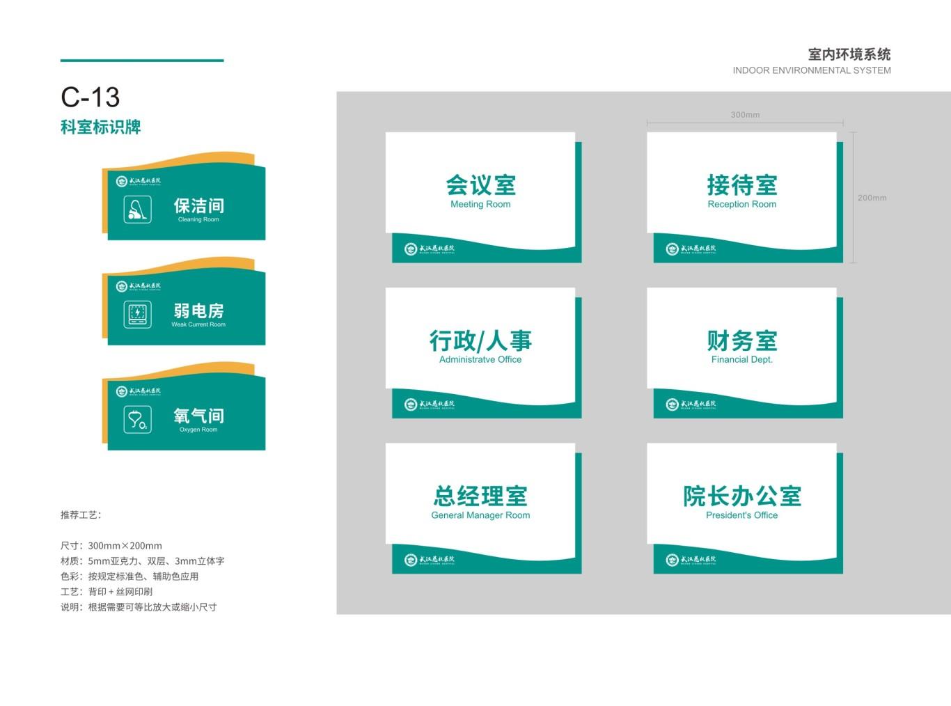 武汉慈杭医院VIS设计图67