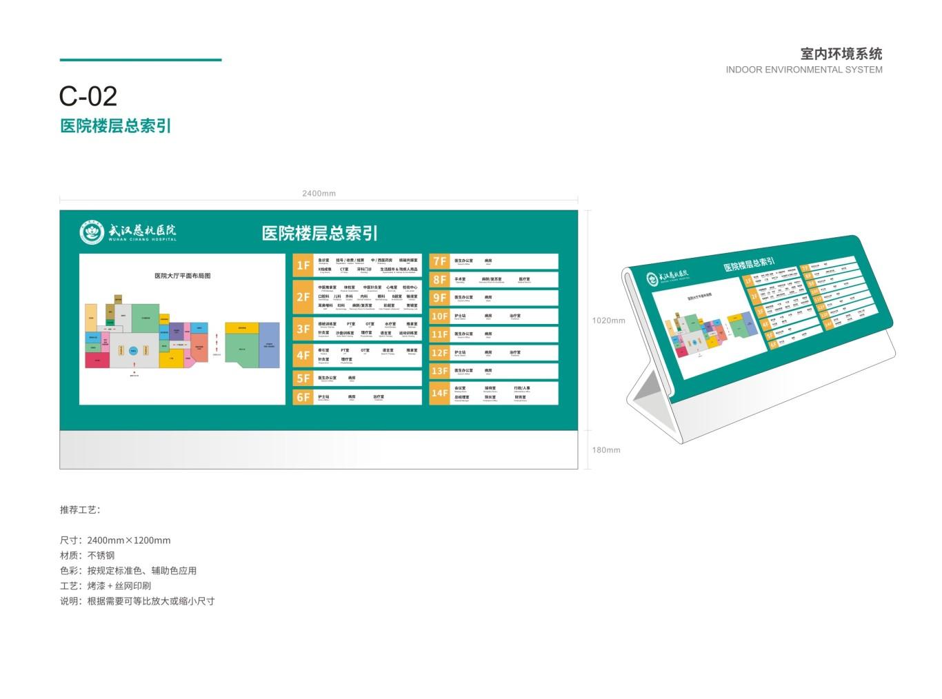 武汉慈杭医院VIS设计图48