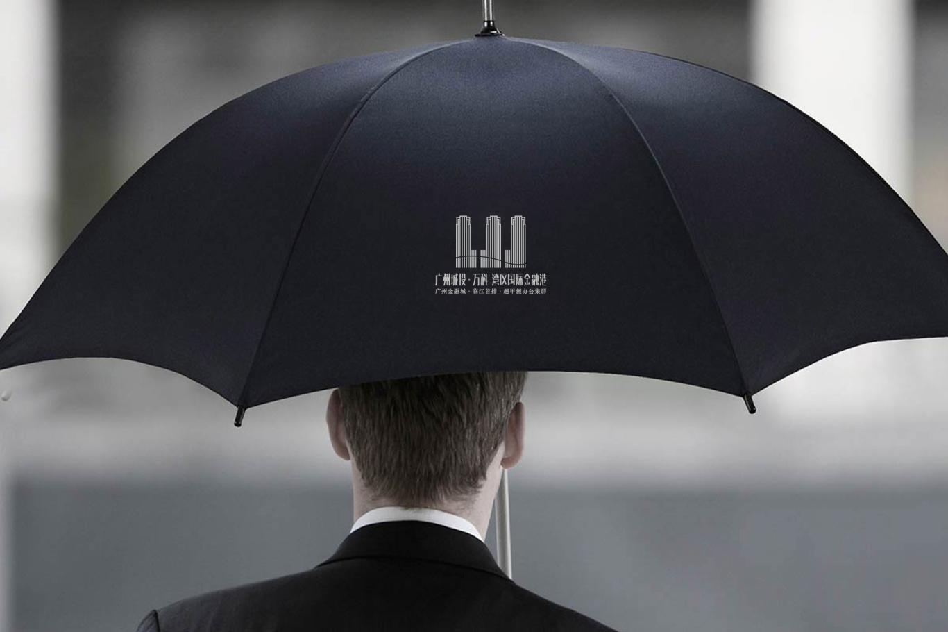 广州城投·万科 湾区国际经融港/品牌包装 VI视觉识别系统设计 地产logo设计图8
