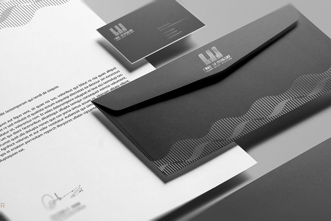 广州城投·万科 湾区国际经融港/品牌包装 VI视觉识别系统设计 地产logo设计图6