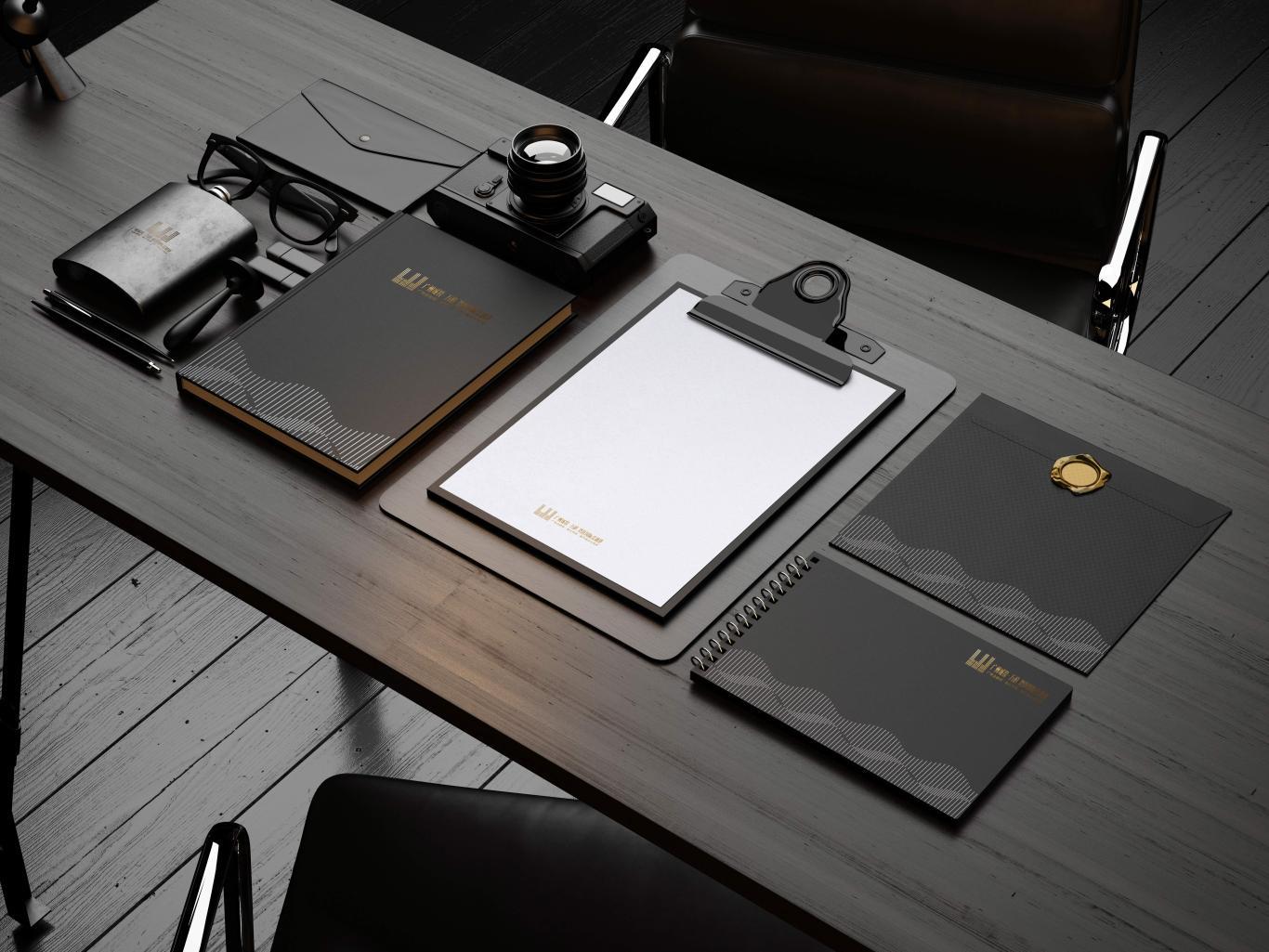 广州城投·万科 湾区国际经融港/品牌包装 VI视觉识别系统设计 地产logo设计图14