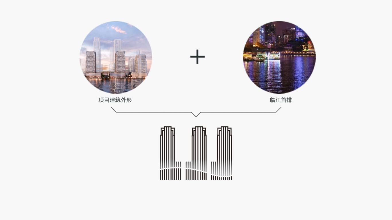 广州城投·万科 湾区国际经融港/品牌包装 VI视觉识别系统设计 地产logo设计图2