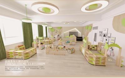 幼儿园区角家具设计案例