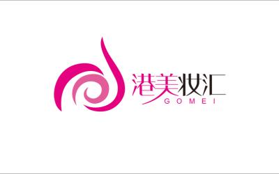 港美妆汇logo设计