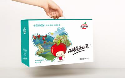 灵宝苹果包装设计