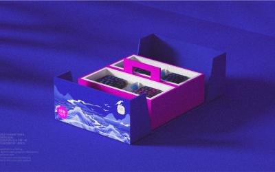 高端蓝莓礼盒包装亚博客服电话多少