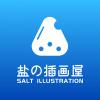 盐の插画屋是来自石家庄的设计师